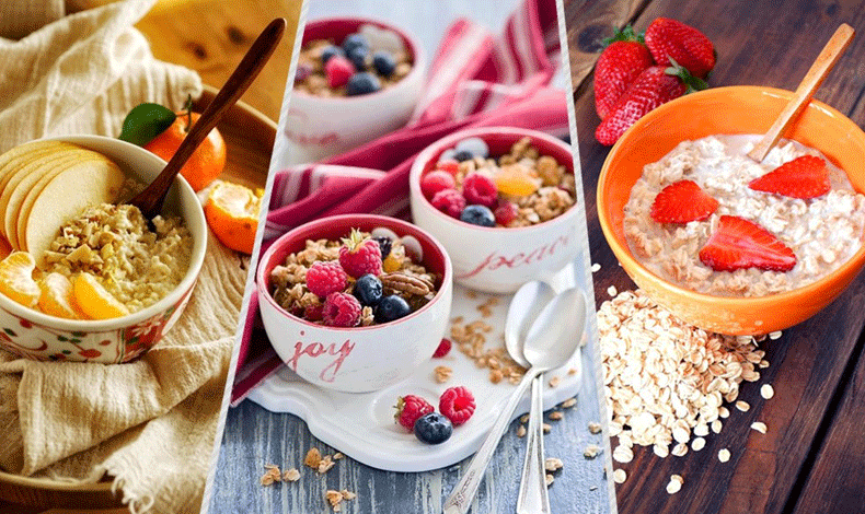 燕麦早餐的10种养生又瘦身的吃法