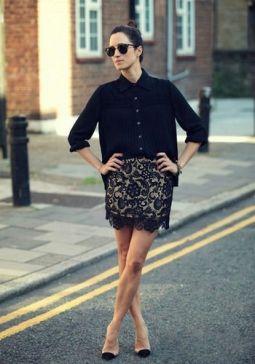 蕾丝裤搭配法则,让您穿出清新女神范儿来