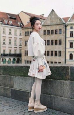 韩系学生春装搭配,让你轻松穿出韩范感觉