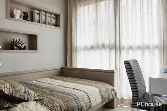儿童卧室窗帘效果图