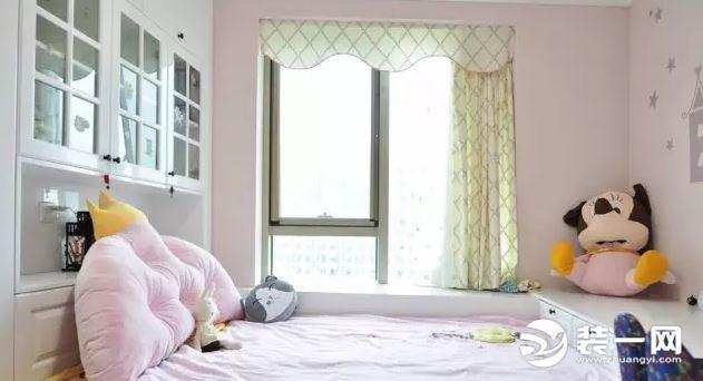 儿童房飘窗设计 这8种飘窗窗帘装修效果孩子最爱