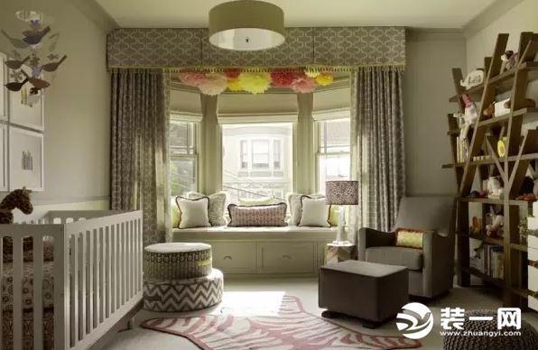 儿童房想设计飘窗 这8种飘窗窗帘装修效果孩子最爱