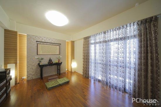 客厅窗帘效果图