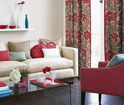 客厅软装搭配聆听窗帘与沙发的对话