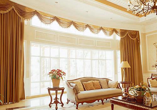 妆点美丽家居 11款客厅窗帘效果图