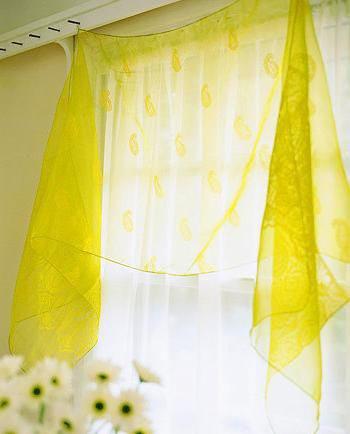流行风格装修 各式窗帘给你飘扬的梦