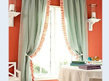 客厅窗帘什么颜色好6款窗帘扮美新生活