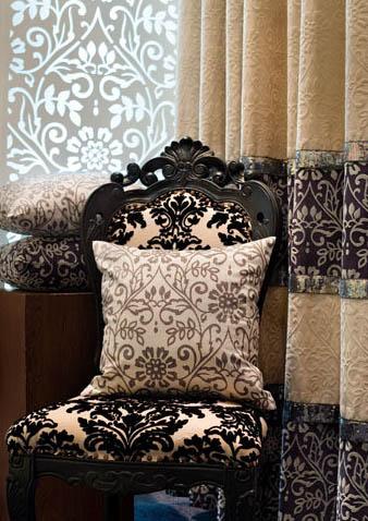 五款客厅窗帘古典略带唯美的享受