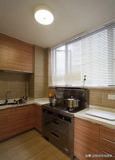 还在为厨房装不装窗帘而纠结吗?