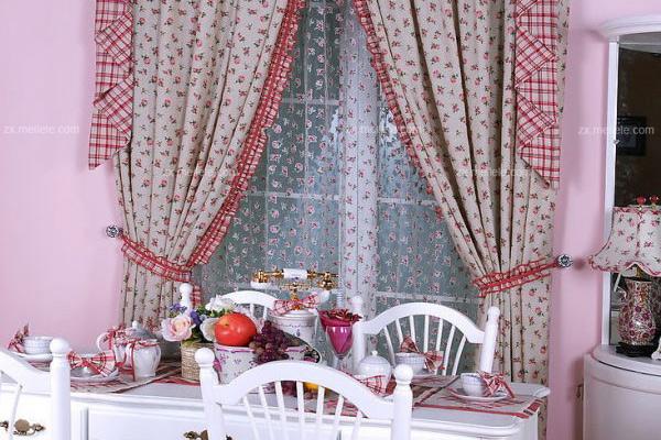 找不到喜爱的窗帘搭配吗?分享最流行的餐厅窗帘效果图