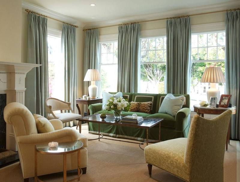 客厅窗帘搭配技巧 体现不一样的窗帘效果