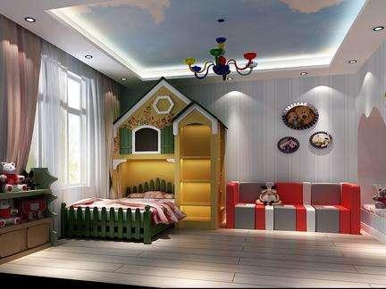 儿童房装修与布置 窗帘装饰有玄妙