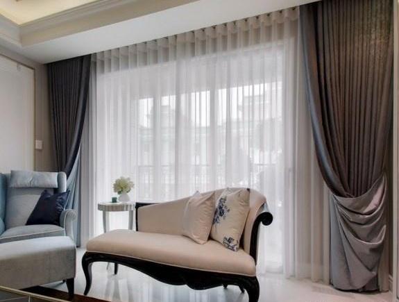 客厅窗帘怎么选?快看这些流行的搭配方式!