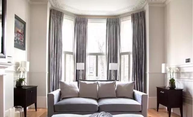 沙发与窗帘色系的绝妙搭配!教你打造超高颜值客厅