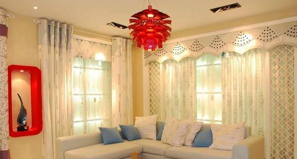 选对客厅窗帘颜色 提升家庭运势!