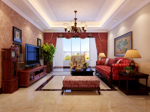 客厅窗帘的颜色搭配技巧