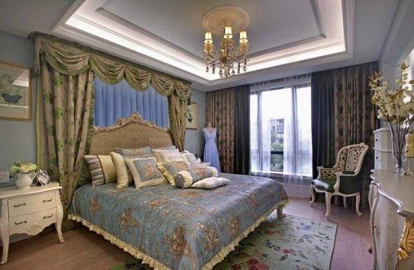 室内装饰卧室窗帘设计大盘点