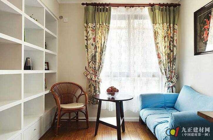 书房窗帘如何搭配好看?书房窗帘装修图片欣赏
