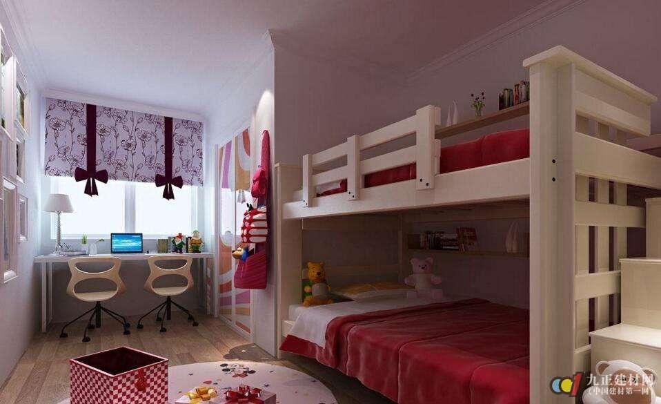 儿童房用什么颜色的窗帘合适?儿童房窗帘装修效果图