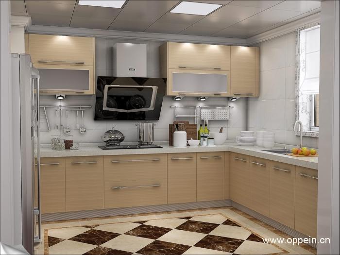 厨房百叶窗帘装修效果图