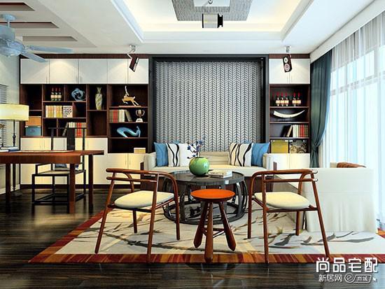书房用什么颜色的窗帘比较好?