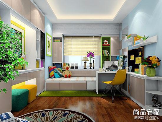 书房什么颜色窗帘比较好呢?