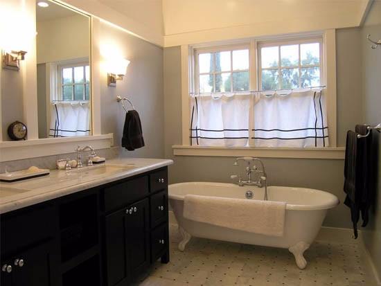 卫生间用什么窗帘最好
