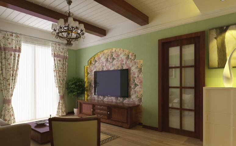 客厅贴墙纸还是刷漆好