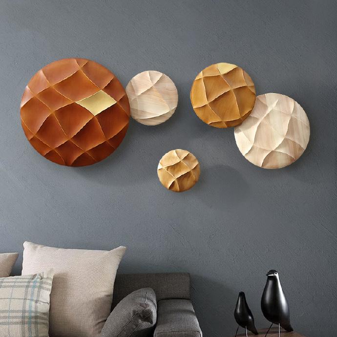 东南亚风的墙贴,点亮你的客厅!