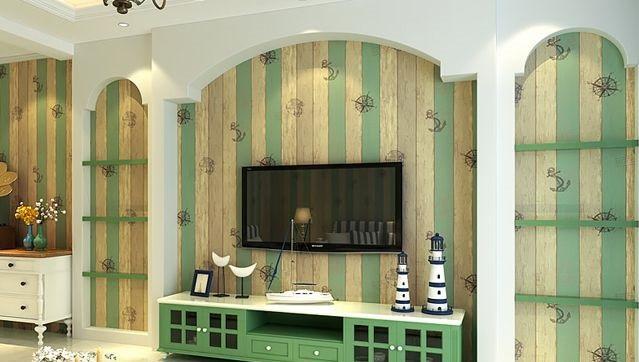 客厅壁纸装修效果图,这才是家的样子!