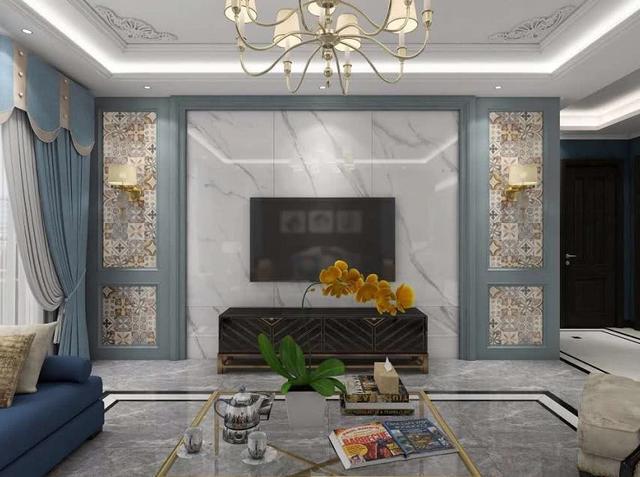 家装紧扣主题的窗帘,上下呼应的餐厅,形成有趣的视觉中心