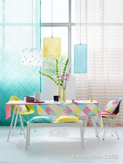 餐厅窗帘效果图大全,餐厅装修你还需要一款美美的窗帘!