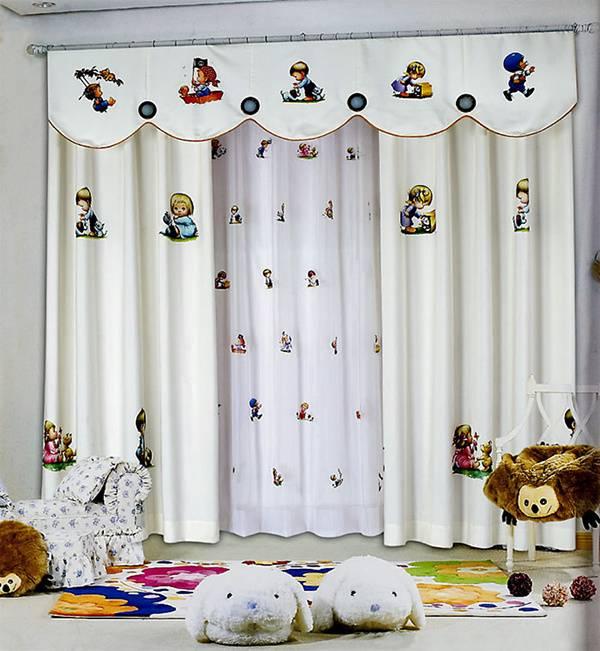 儿童窗帘选购注意事项 还孩子一个美好的童话世界
