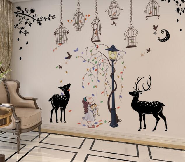 儿童家居的墙面装饰 为宝宝打造一个温馨的家