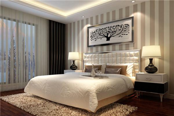 卧室装修墙纸有哪些讲究?贴得的瞬间提升居家氛围