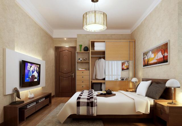 卧室壁纸装修设计及选购技巧!