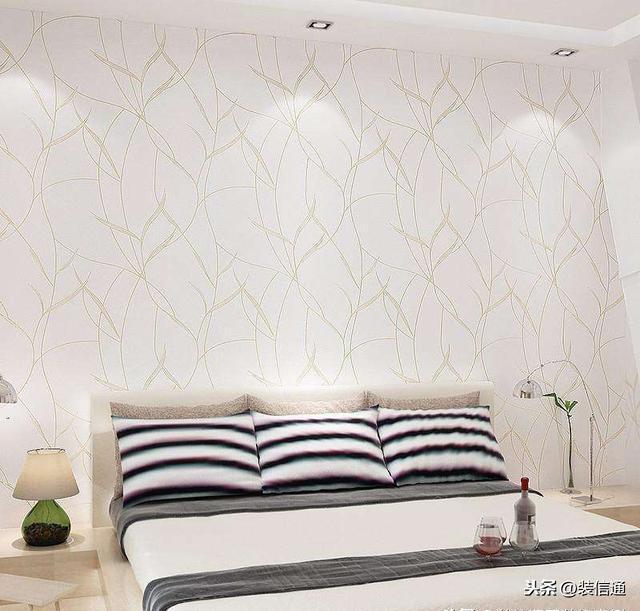 卧室准备贴墙纸但不知道怎么选?