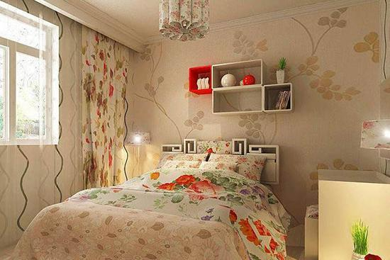 秋季卧室墙纸搭配小技巧 让你家的墙美美哒