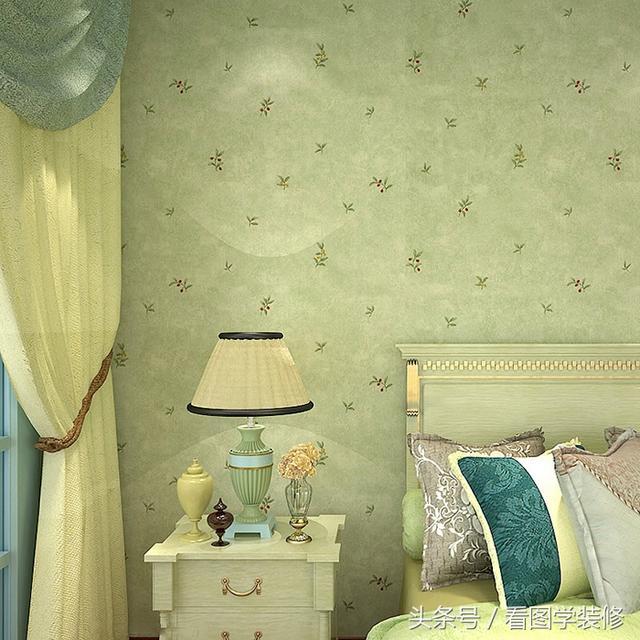 卧室壁纸装修效果图 卧室壁纸图片大全
