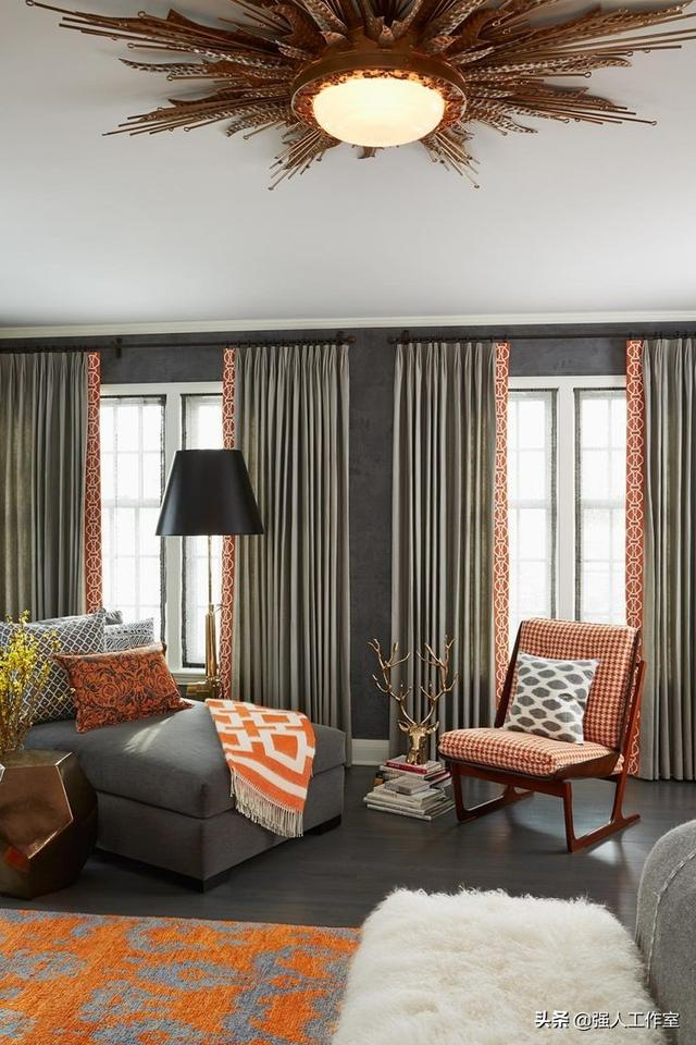 最好的窗帘能让你的卧室更漂亮