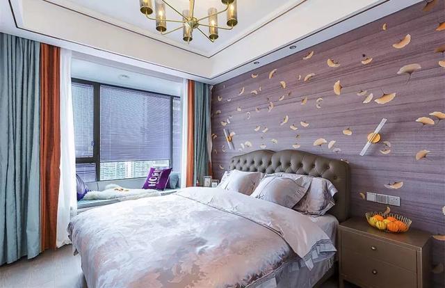卧室准备贴壁纸,装修公司给了35个实际效果图,但还是很难选择
