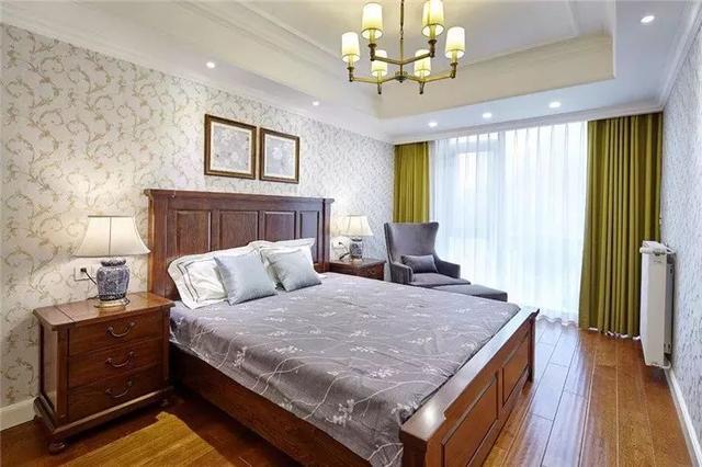 卧室壁纸效果图大全 总有一款你会喜欢
