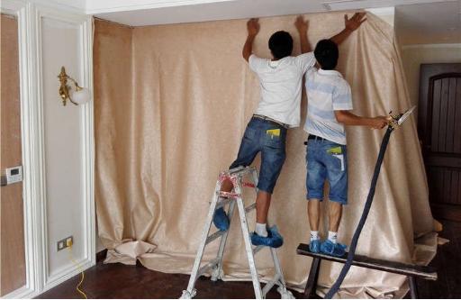新房装修时墙布怎么贴才会不翘边