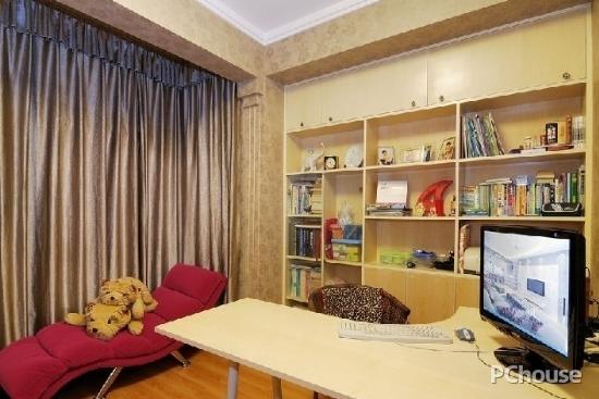 美式书房窗帘装修效果图大全美式书房窗帘装修效果图大