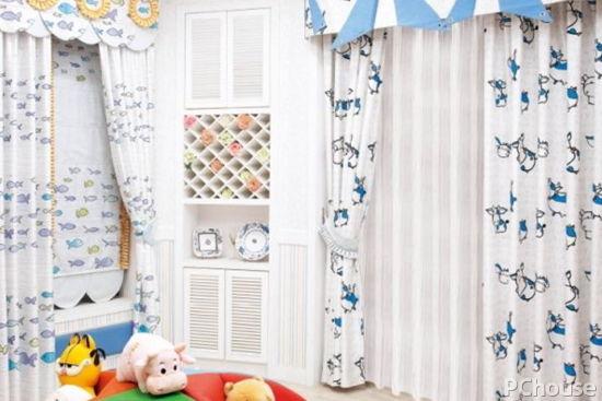 儿童房窗帘如何选购儿童房窗帘颜色搭配技巧