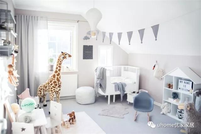 不同年龄的儿童房窗帘配色有讲究?