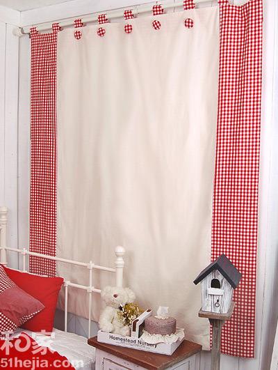 韩式田园风格窗帘甜美公主房必备