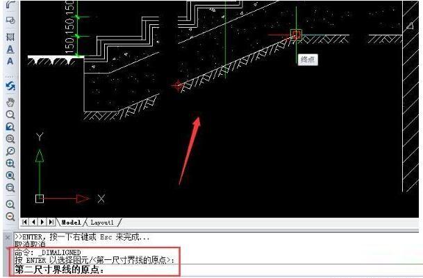 迅捷CAD编辑器斜线长度在哪标注