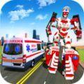 救护车机器人救援.2