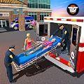 警用救护车救援驾驶